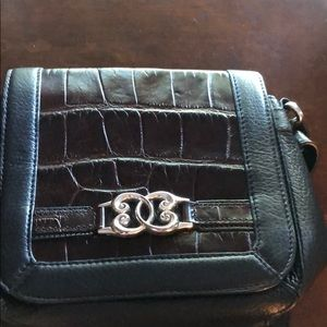 Brighton leather purse bag with extra